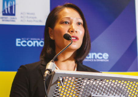 Patti Chau, Regional Director, ACI Asia-Pacific, referred to the healthy growth of airports in the Asia-Pacific. Indeed, 9 of the world's 20 busiest airports are