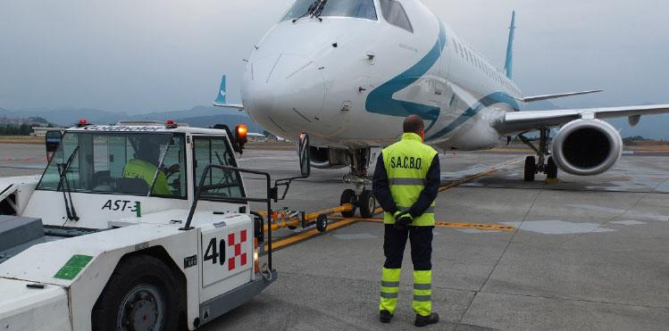 Bergamo airport new runway