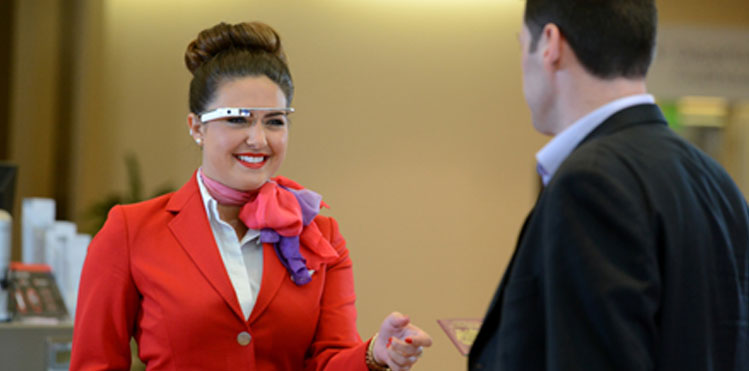 Virgin Atlantic plans full roll-out of wearable technology in Upper Class Wing at Heathrow Airport