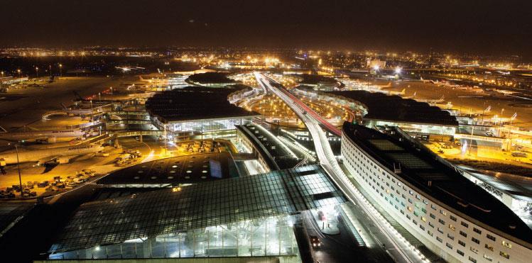 European airport