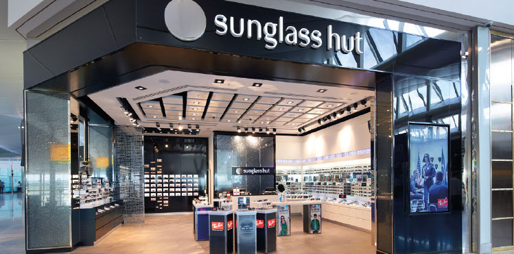 Sunglass Hut Gatwick Airport  a new dawn for sunglasses in travel retail airport business