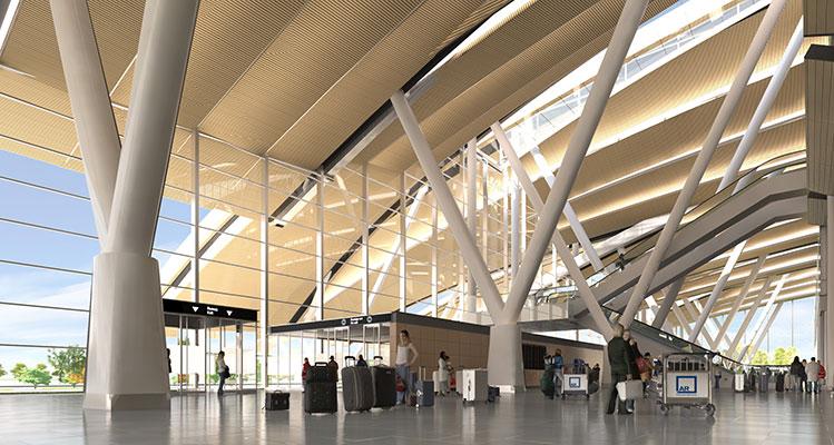 Rostov-on-Don Airport Terminal