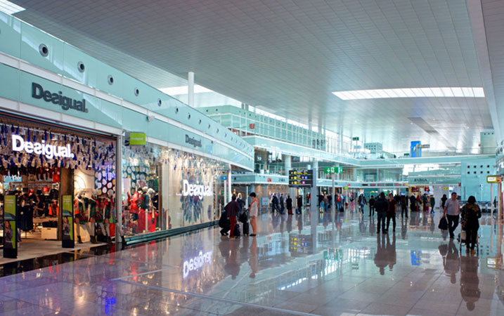 Barcelona el prat completes phase one of retail renovation - The body shop barcelona ...