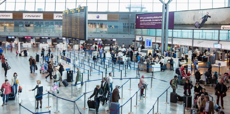 helsinki airport arrival