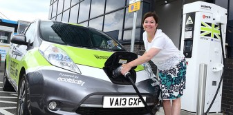 Birmingham Airport installs electric car charging points