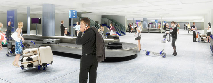 Bristol baggage reclaim