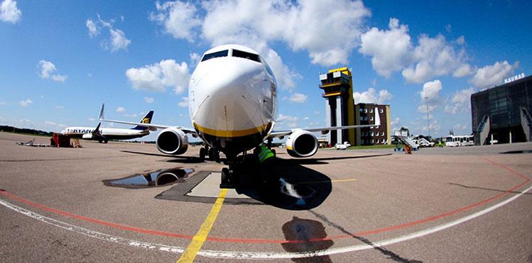 Kaunas Airport Plane