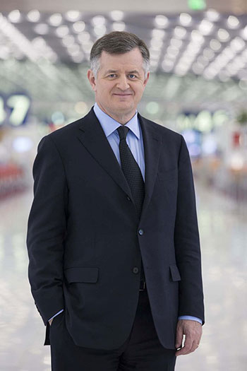 augustin de romanet chairman & ceo of aeroports de paris