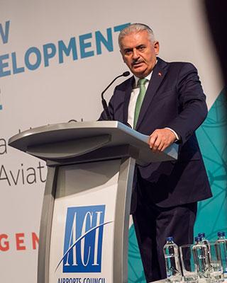 binali yildirim minister transport maritime affairs communications turkey