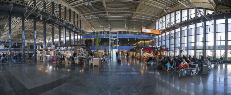 international terminal of milas bodrum airport
