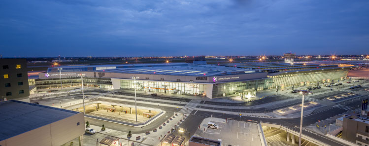 recently opened new terminal at warsaw chopins boosted airports capacity to over 20 million