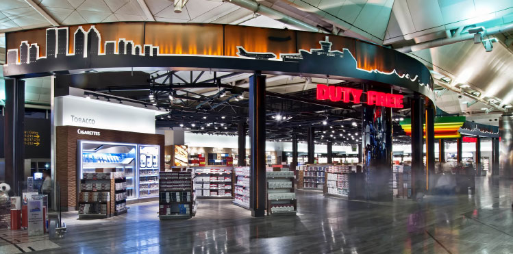 tav entry into us market duty free tender atu houston george bush airport