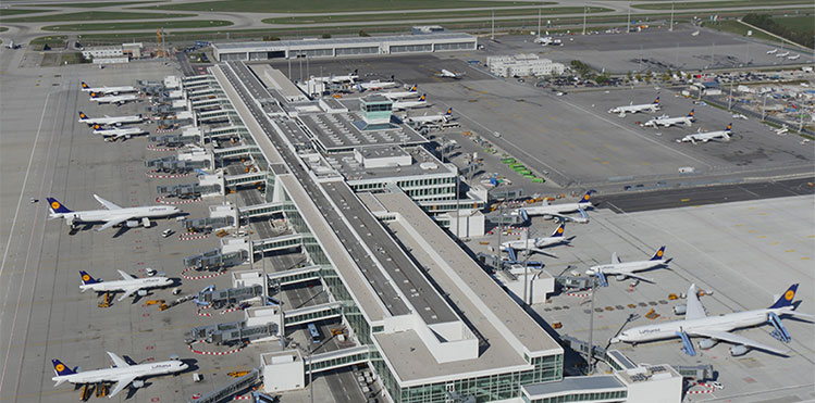 Munich's new satellite terminal enters ORAT programme before April opening