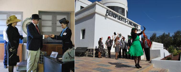Airport anniversaries-Lanzarote Airport: 70