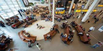 Schiphol's new Departure Lounge 2 continues focus on increased capacity, efficiency and comfort for passengers