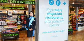 Personal guides enhancing Chinese traveller experience at Helsinki Airport