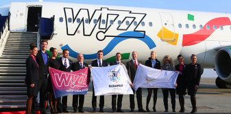 Wizz Air reveals Budapest 2024 livery at Budapest Airport