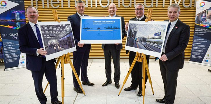 Planned rail link between Glasgow Airport and city centre to boost economy