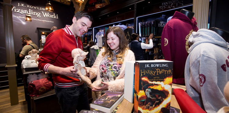 The Harry Potter Shop Opens At Heathrow Terminal 5