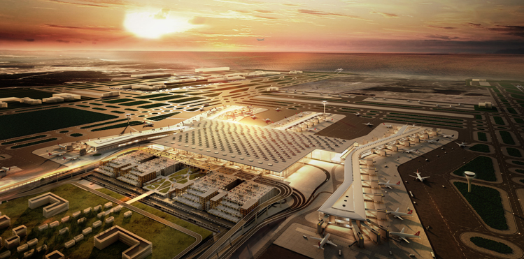"Opening Q1 2018: ""We are planning to have a 'big bang' transition from the current Atatürk Airport to the new one which means a transfer of operation – in just a couple of days."""