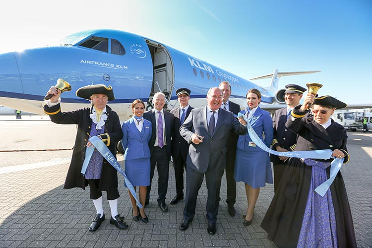 KLM returns to Southampton