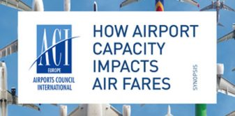 New study reveals consumers paying €2.1 billion in higher air fares at congested airports