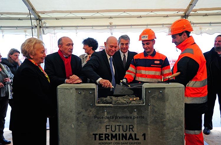 Philippe Bernand, CEO Aéroports de Lyon