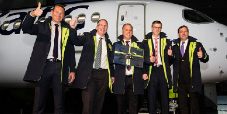 airBaltic expanding horizons: CS300 boosting Baltic connectivity