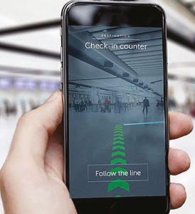 gatwick-installs-2,000-indoor-navigation-beacons