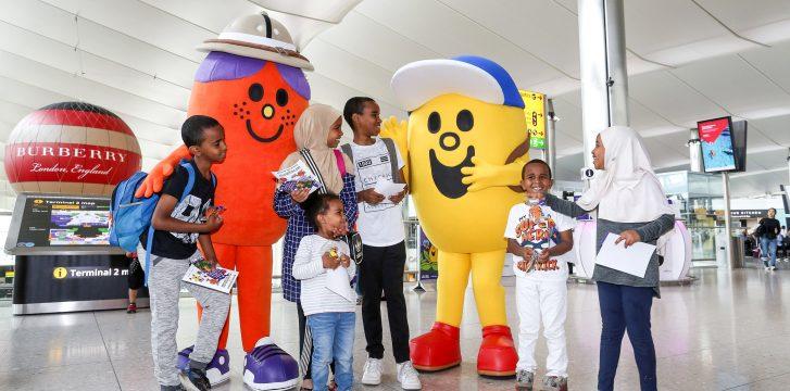 Heathrow Airport launches new app to entertain children