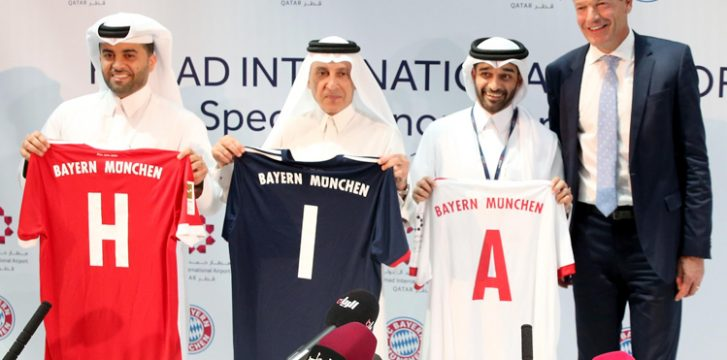 Hamad International Airport strengthens sponsorship of FC Bayern München