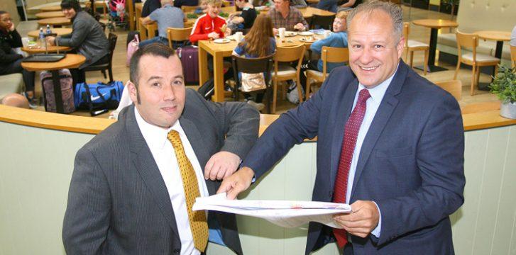SSP to invest €2.7m in Belfast International's F&B offering