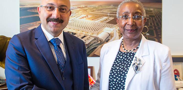 ACI World visits Istanbul New Airport