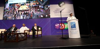 Hamad International Airport shared its vision and future plans at the OAMC-hosted ACI Airport Exchange in Muscat