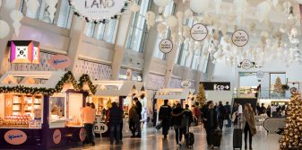 Airports bringing Christmas magic and festive promotions to passengers