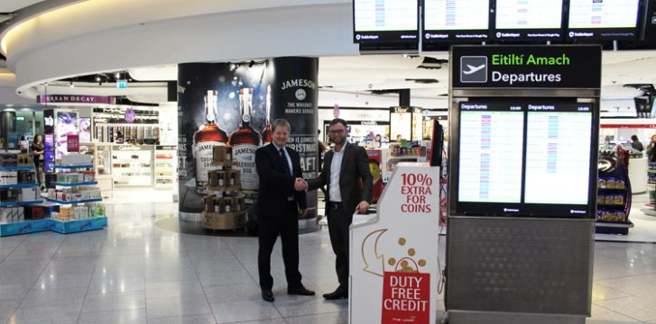 Dublin Airport launches innovative coin service for passengers