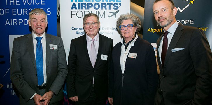 ACI EUROPE hosts its Annual New Year Reception in the European Parliament
