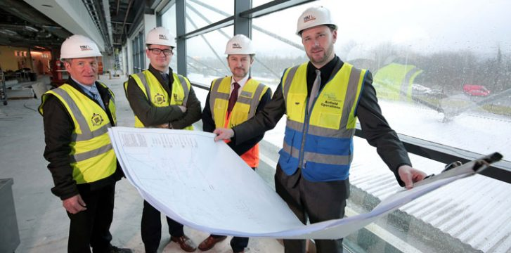 Work begins on £15 million upgrade at Belfast City Airport to improve passenger experience