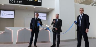 London Stansted Airport opens new check-in area as part of £600m transformation project
