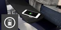 Arconas is launching two new airport furniture solutions, the inPower hub and Place wireless charging tablet.