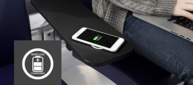 Seamlessly integrated wireless charging