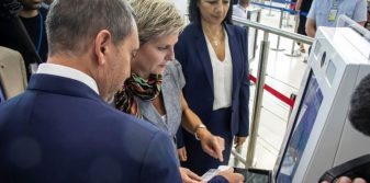 Hermes Airports adopts interactive self-service kiosks at Larnaka and Pafos