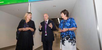 UK Aviation Minister visits Aberdeen International Airport