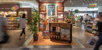 Bacardi shopper engagement campaign launched at Frankfurt Airport