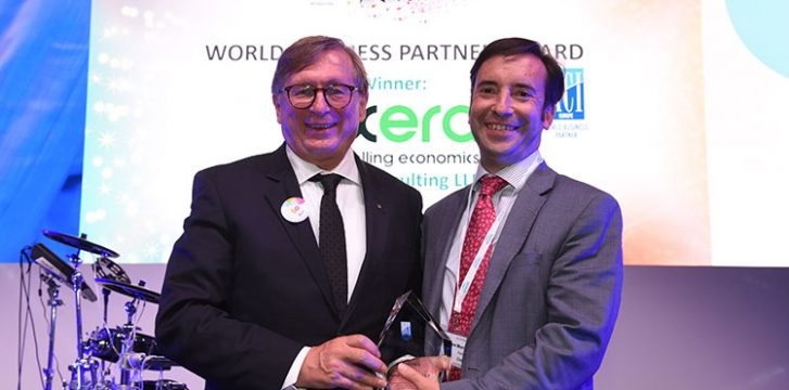Oxera wins World Business Partner Recognition Award