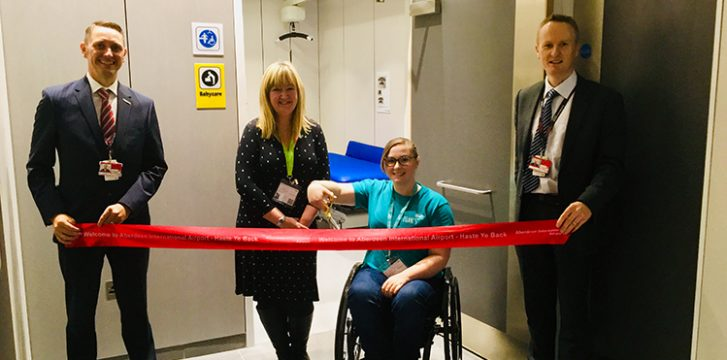 Aberdeen Airport opens Changing Places facility