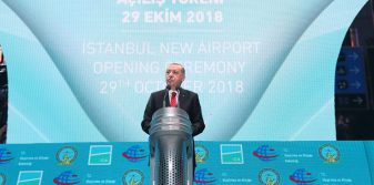 Turkish President opens new Istanbul Airport