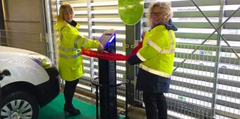 Aberdeen Airport introduces electric car charging points