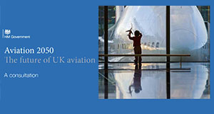 UK Government's new aviation strategy focusing on developing safe, secure and sustainable aviation sector