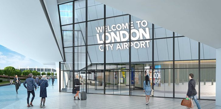 London City Airport releases new terminal interior concept images reflecting 21st century London